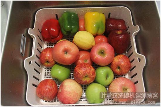 大量水果清洗