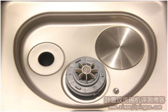 水槽洗碗机功能槽内部细节