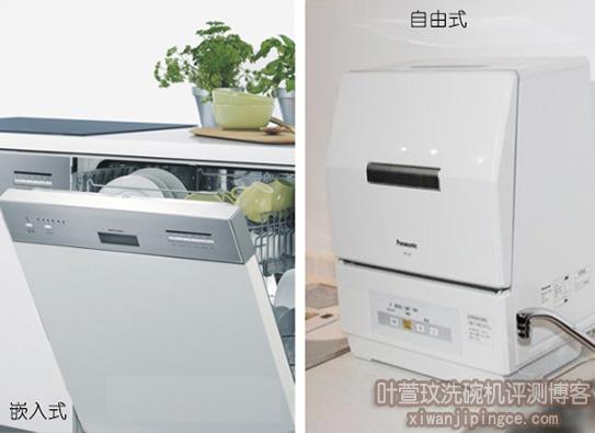 洗碗机安装方式分类