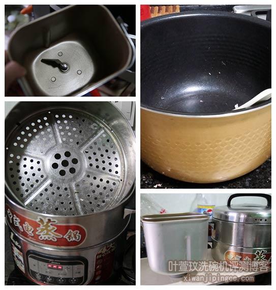 厨房电器配件清洗对比