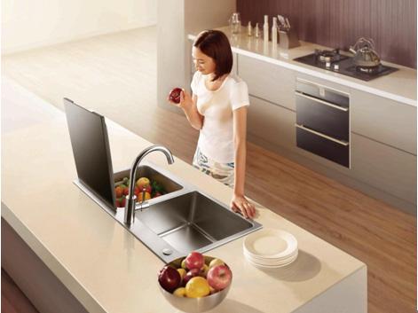 方太水槽洗碗机安装方便