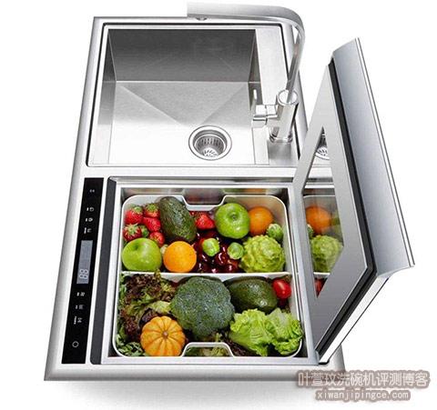 水槽洗碗机去农残功能