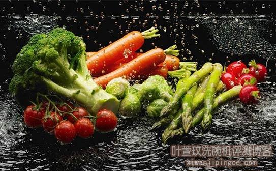 水槽洗碗机祛除果蔬残留