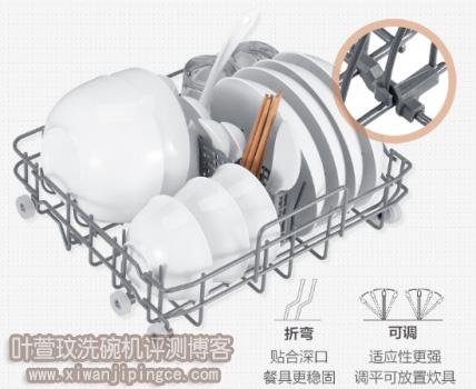 美的M1洗碗机碗篮结构