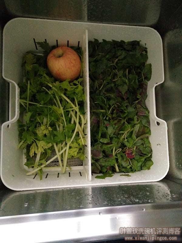 清洗果蔬测试
