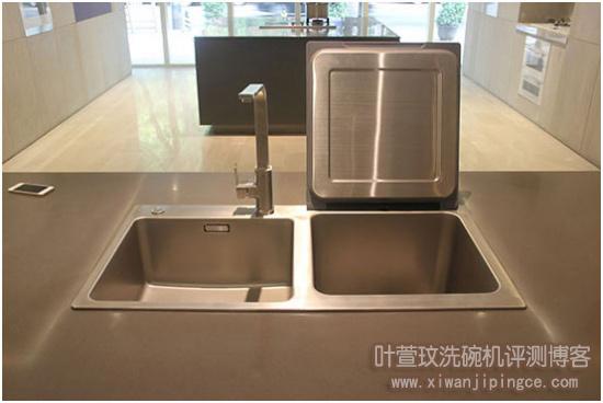 方太X1TS水槽洗碗机打开状态