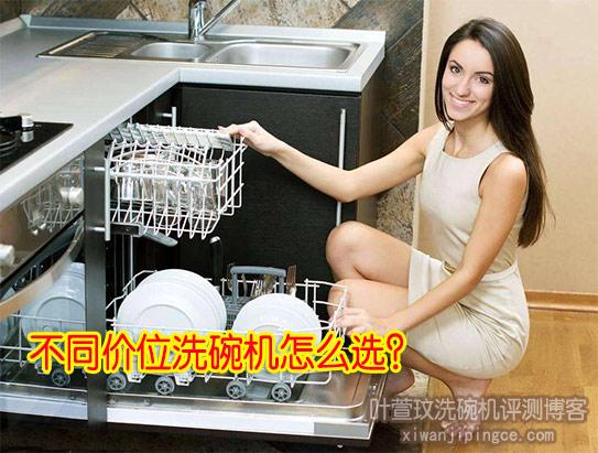 不同价位的洗碗机怎么选?